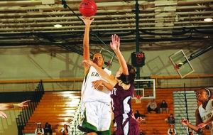 Lady Pioneers Set Pace in Win 53-43