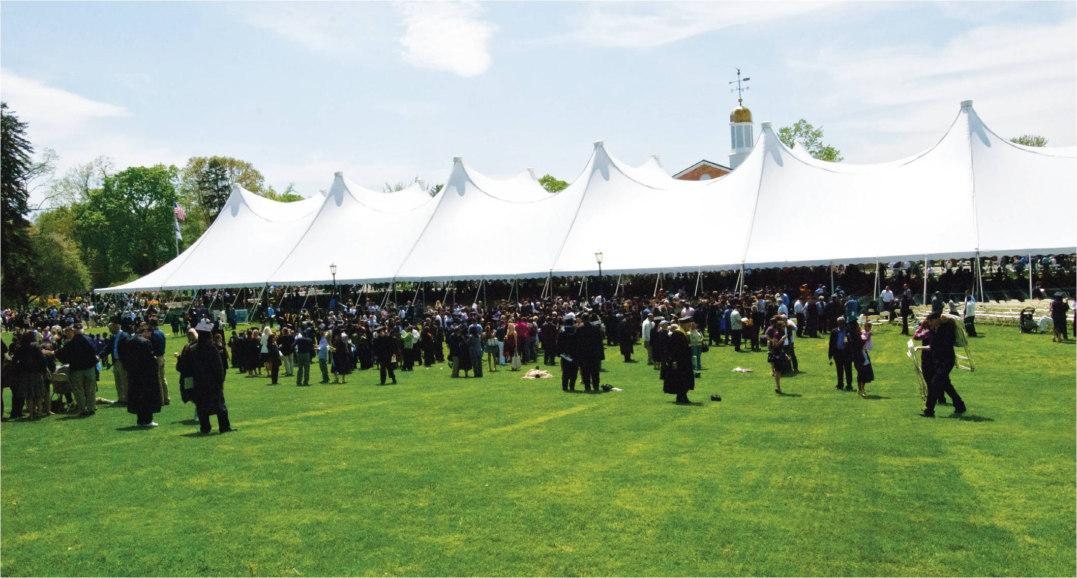 Commencement Returns Home
