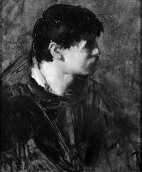 BWVollon portrait Tete d'homme