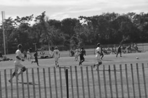 Men's soccer continues winning streak. By Tia-Mona Greene