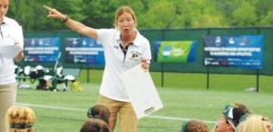 Meghan McNamara, women's lacrosse coach. By LIU Post Athletics