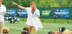 Meghan McNamara, women's lacrosse coach. By LIU Post Athletics