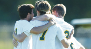 The loss to Post University on Oct. 23 dropped men's soccer to 15th in the NSCAA Poll. By LIU Post Athletics