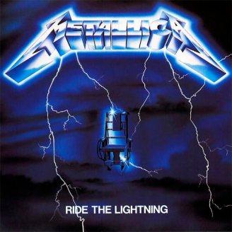 """Ride the Lightning"" album cover"