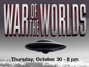 WCWP will broadcast a live performance of H.G. Wells' War of the Worlds