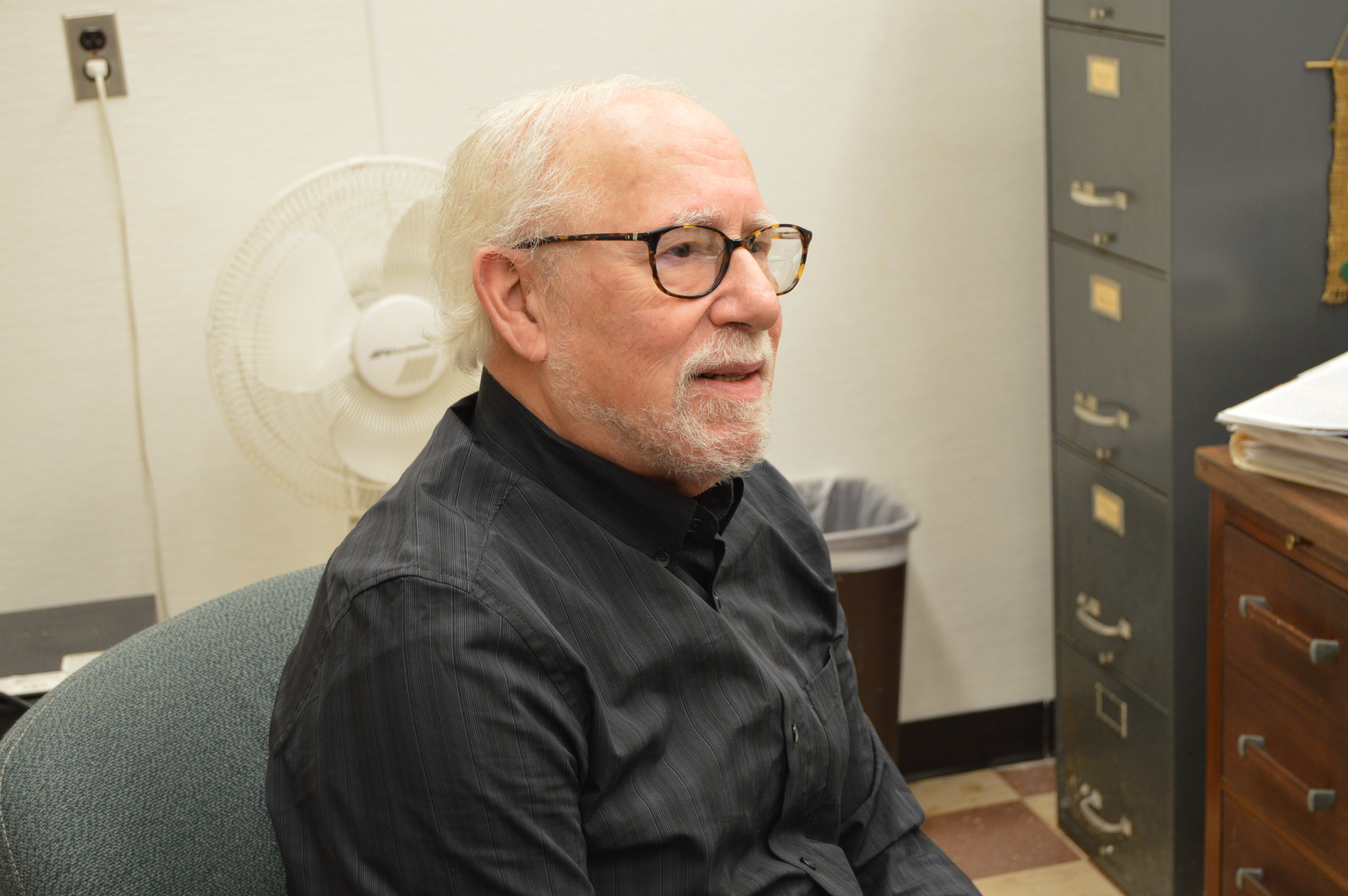 Professor Gerald Lachter, Chairperson of the Psychology Department