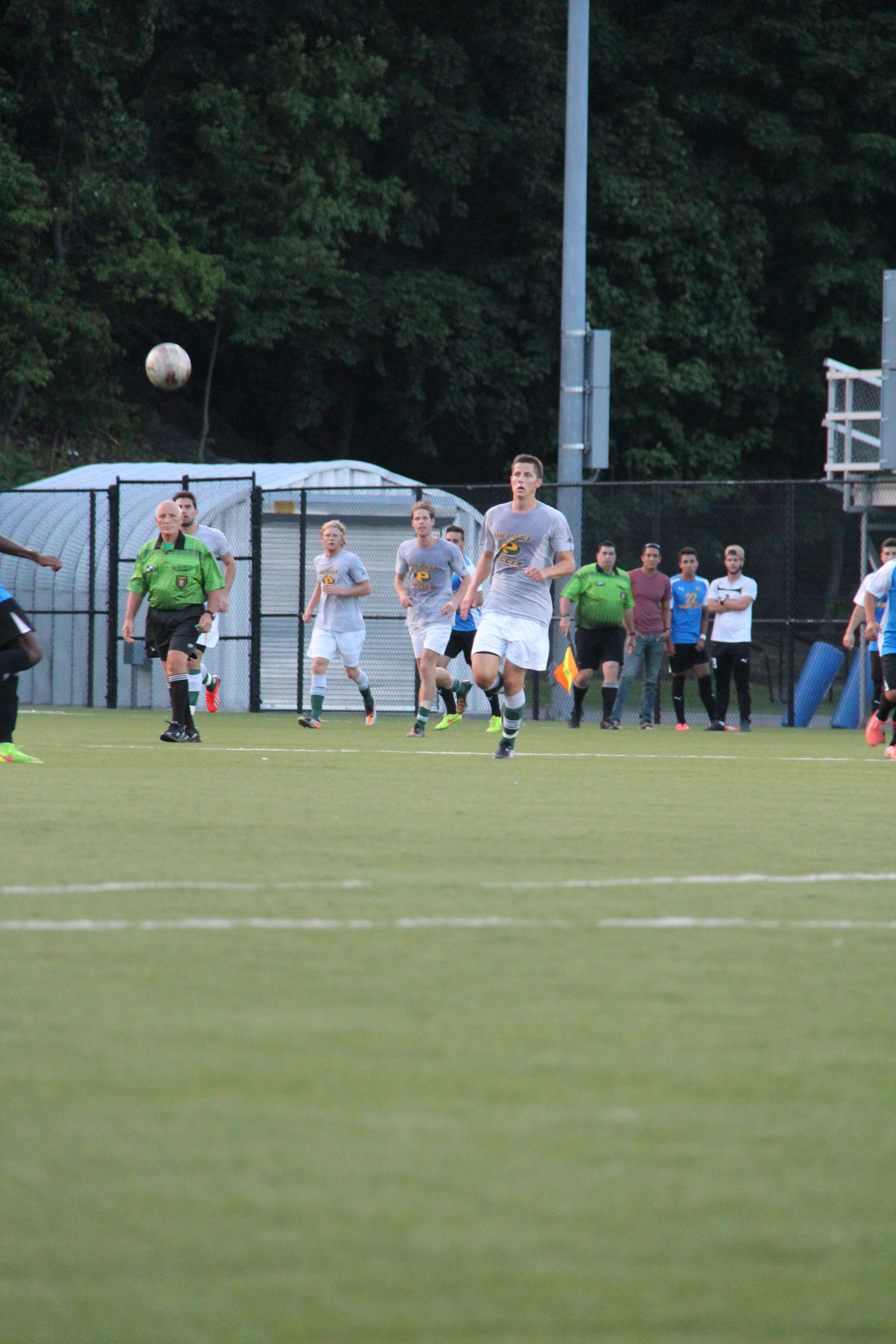 Captain Eivind Austboe of the LIU Post men's soccer team