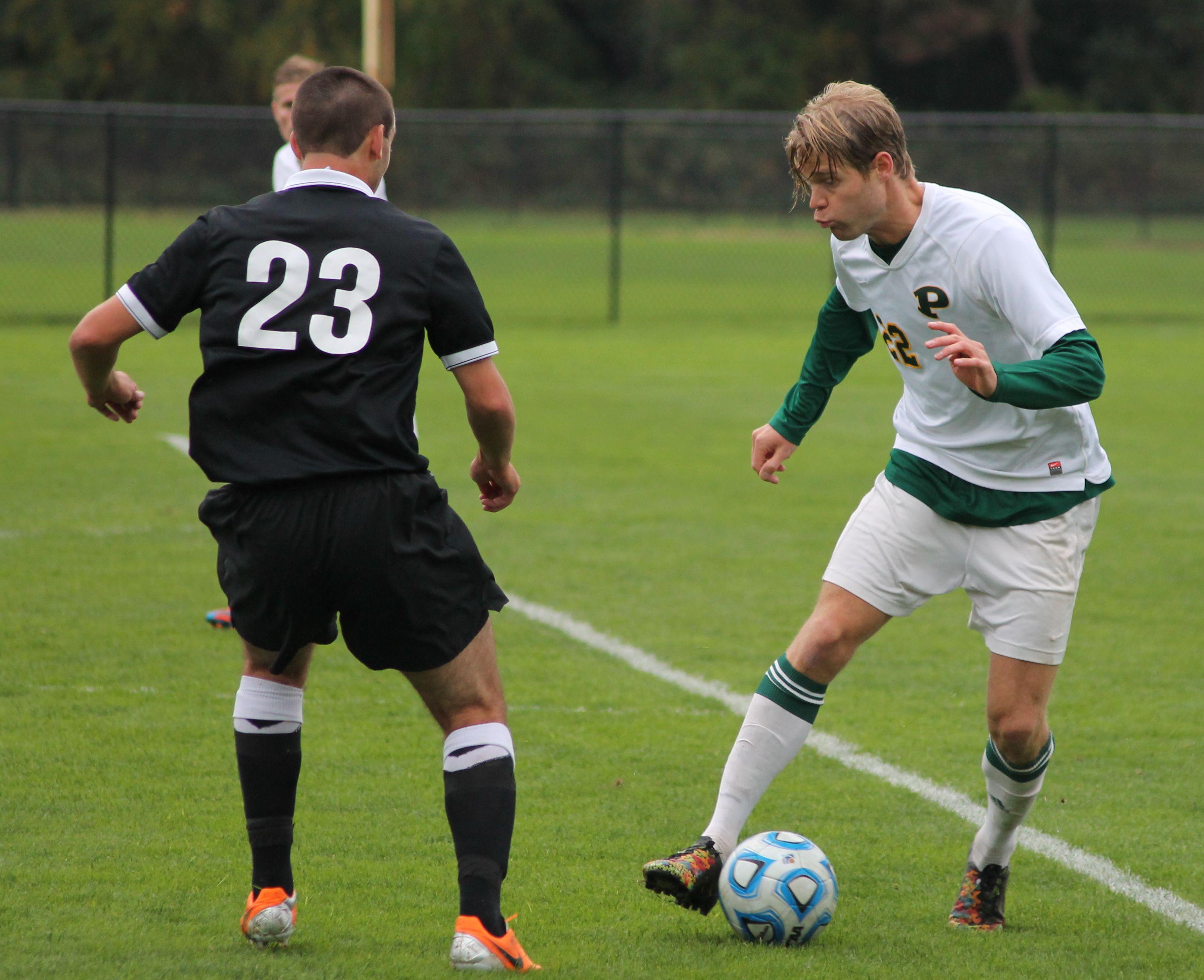 #22 junior defender Johan Rundqvist