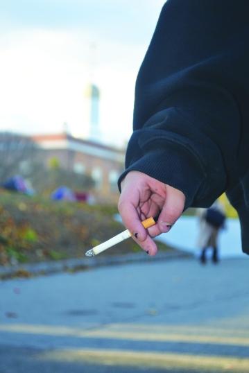 According to the Americans for Nonsmokers' Rights, as of Oct. 1, 2014, there are at least 1,477 100% smokefree campuses