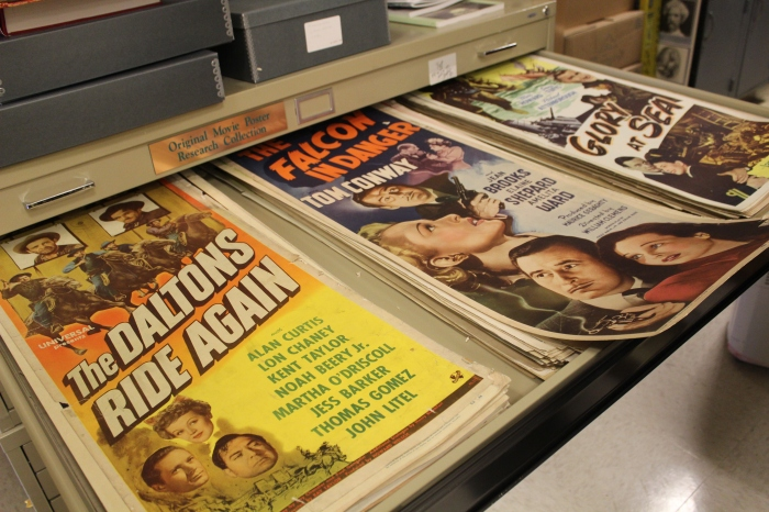 Vintage posters preserved in Special Collections