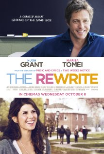 "A promo poster for the movie ""The Rewrite,"" which was filmed primarily on Post's campus. Photo courtesy of IMDB"