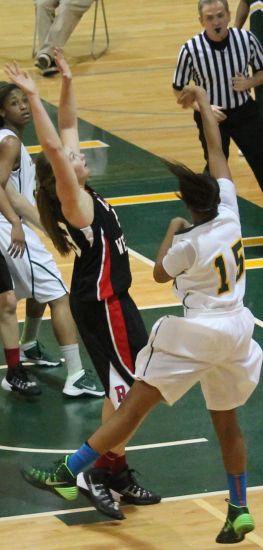 #15, senior point guard Chelsea Williams. Photo credit: Kimberly Toledo