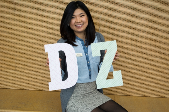 Cindy Park. a recruitment counselor for Delta Zeta. Photo: Khadijah Swann
