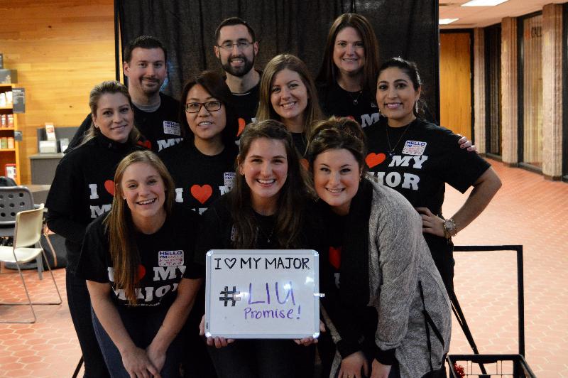 The LIU Promise Coaches. Photo: Janisha Sanford