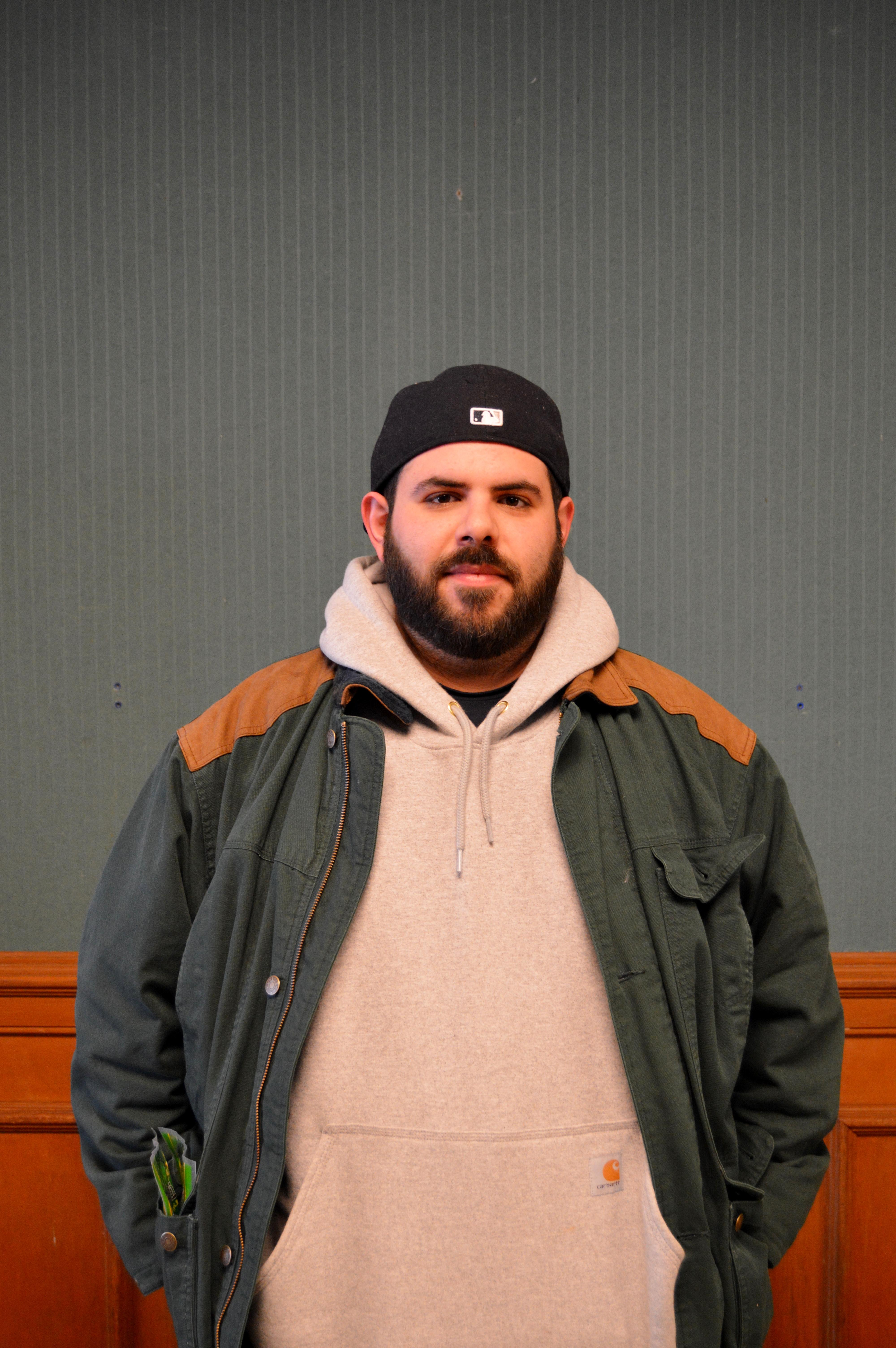 Phillip Aievoli, freshman English major, will spearhead the new literary magazine. Photo: Janisha Sanford