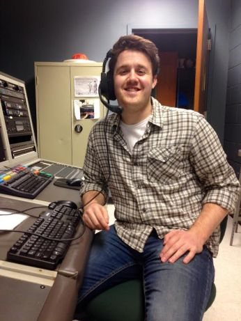 Tom Finn (pictured above), a senior Broadcasting major, is a representative for the Media Arts department on the new SVPA Student Advisory Committee. Photo by Alyssa Seidman