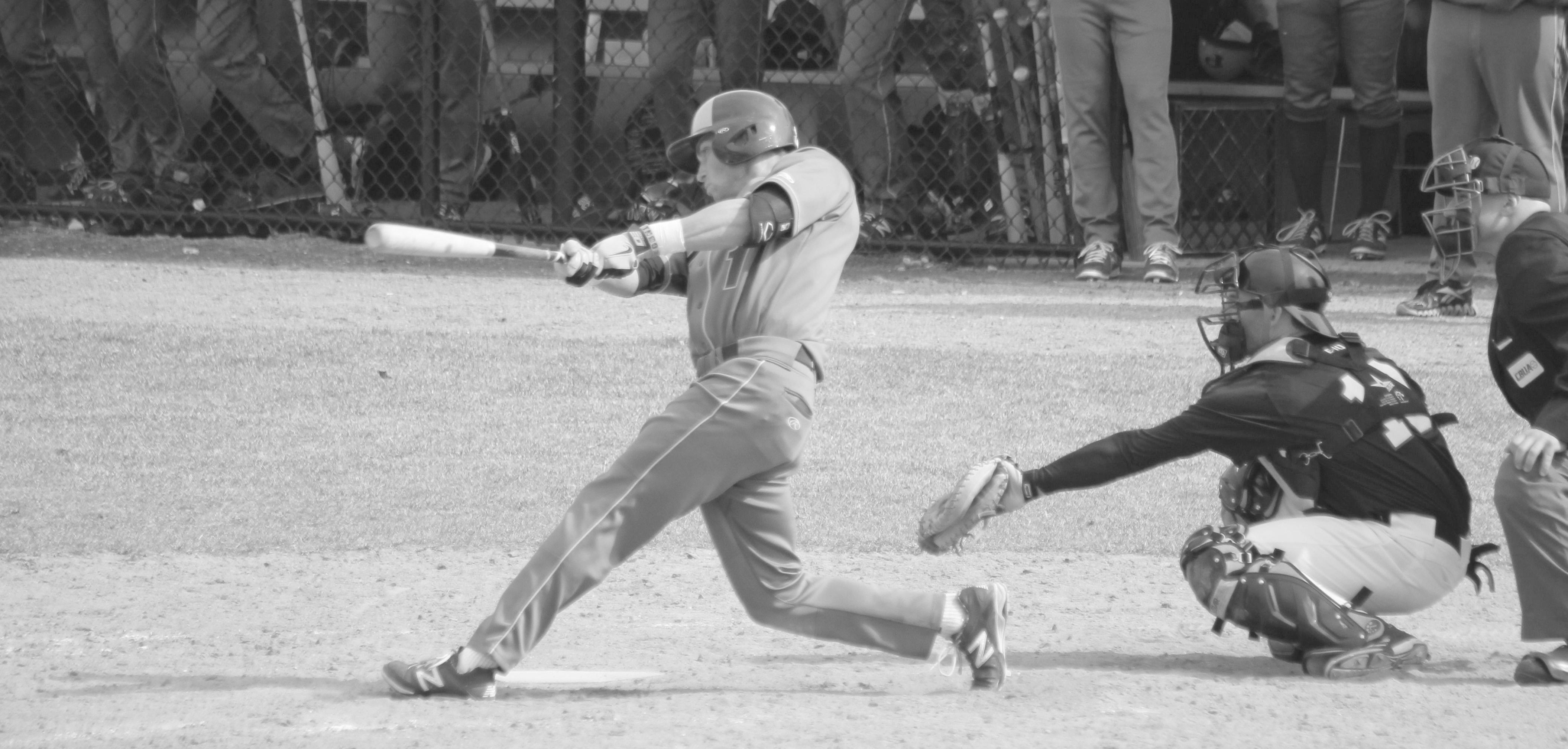 #1, senior infielder Rick Alessi. Photo: Kimberly Toledo