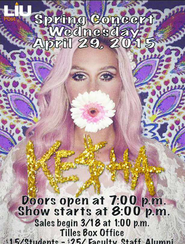 Tickets for the Spring Fling Concert featuring Ke$ha go on sale today