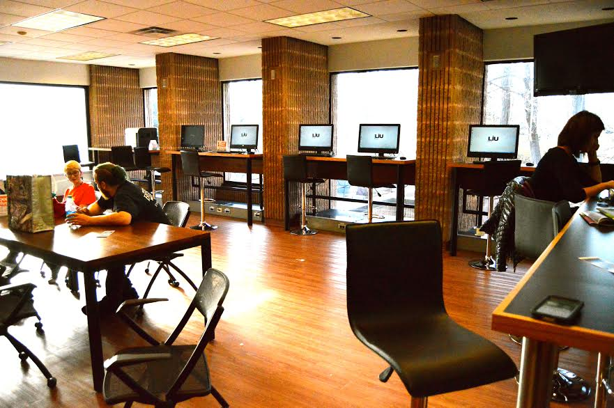 The Career Bar is located next to the LIU Promise offices. Photo: Janisha Sanford